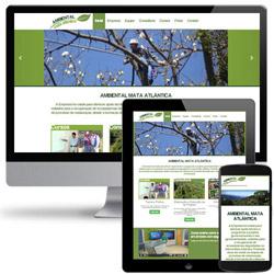 site institucional com galeria de fotos e cursos