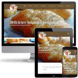 site institucional com formulário de pedido de compra