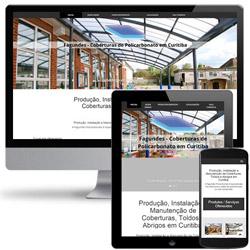 site institucional - landing page