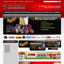 site institucional com galeria de produtos