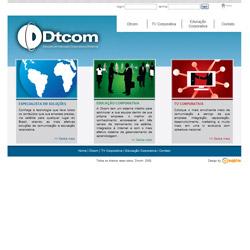 site estático, institucional, com menu DHTML