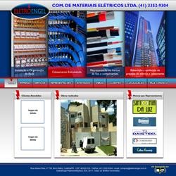 site institucional e galeria de fotos