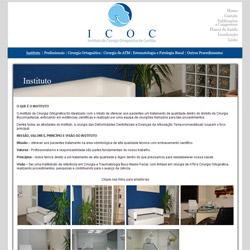 site institucional - com galeria dinâmica de fotos
