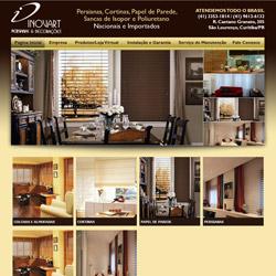 site com catálogo virtual de produtos e simulação de preços