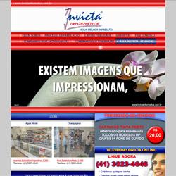 site dinâmico, institucional e comercial