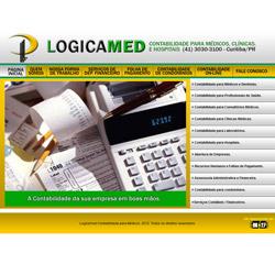 site institucional com sistema de contabilidade on-line