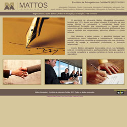 site de escritório de advogados