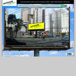 site comercial com formulário de orçamento