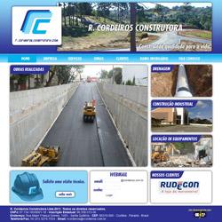 site institucional com galeria de fotos e clientes
