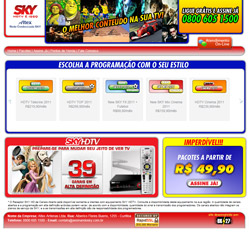 site comercial co matendimento on-line