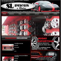 site com vitrine virtual de produtos