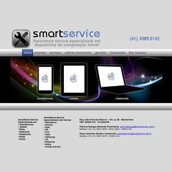 site institucional de serviços