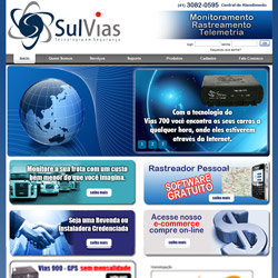 site institucional integrado com e-commerce