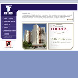site institucional, com sistema de Intranet