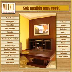 site institucional dinâmico, com catálogo de produtos